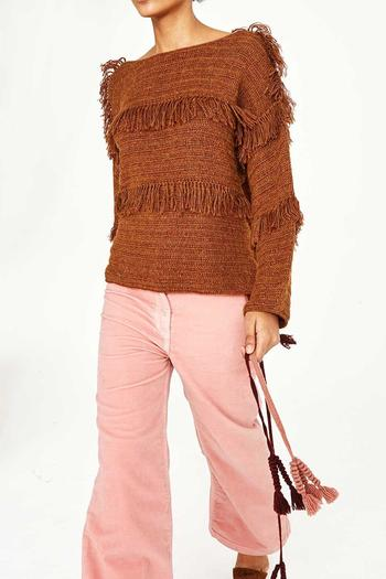 Shoptiques Product: Lordes Fringe Pullover - main