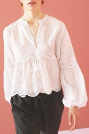 Shoptiques Product: Lucie Embroidered Top - Front cropped