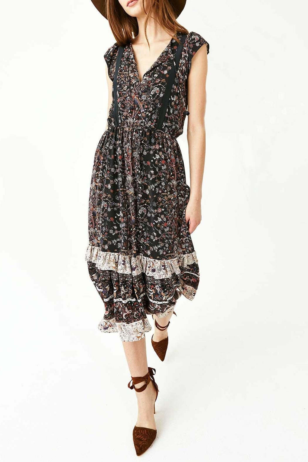 Ulla Johnson Zanna Silk Dress - Back Cropped Image
