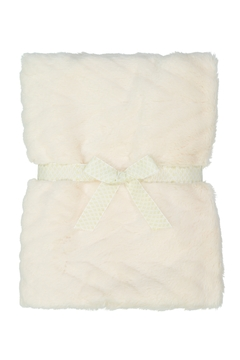 MINI POCKET Ultimate Fur blanket for baby girl or boy, Infant or newborn receiving blanket for crib, stroller, travel, (23 x 33 inches) Great Baby Shower Gift - Product List Image