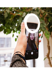Kikkerland  Ultra Bright Selfie Light - Product Mini Image