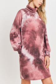 Lyn-Maree's  Ultra Comfy Tie Dye Dress - Front cropped