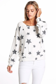 Able USA Ultra Soft Brushed Hacci Star Pullover - Product Mini Image