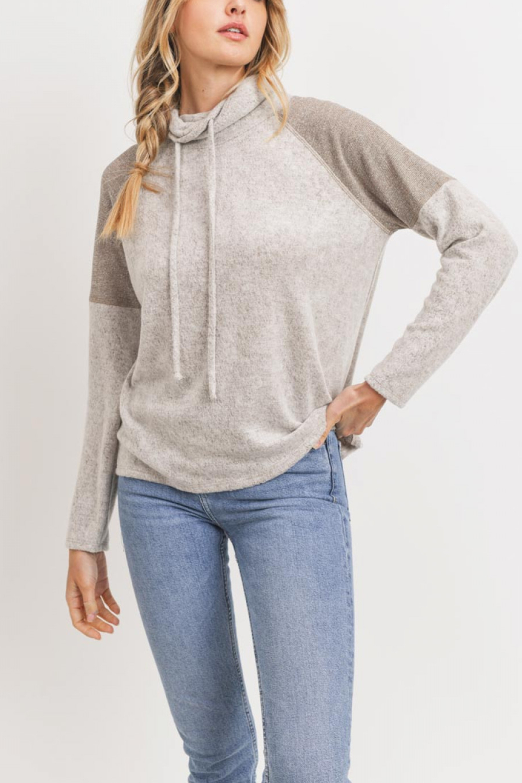 Lyn-Maree's  Ultra Soft Contrast Top - Main Image