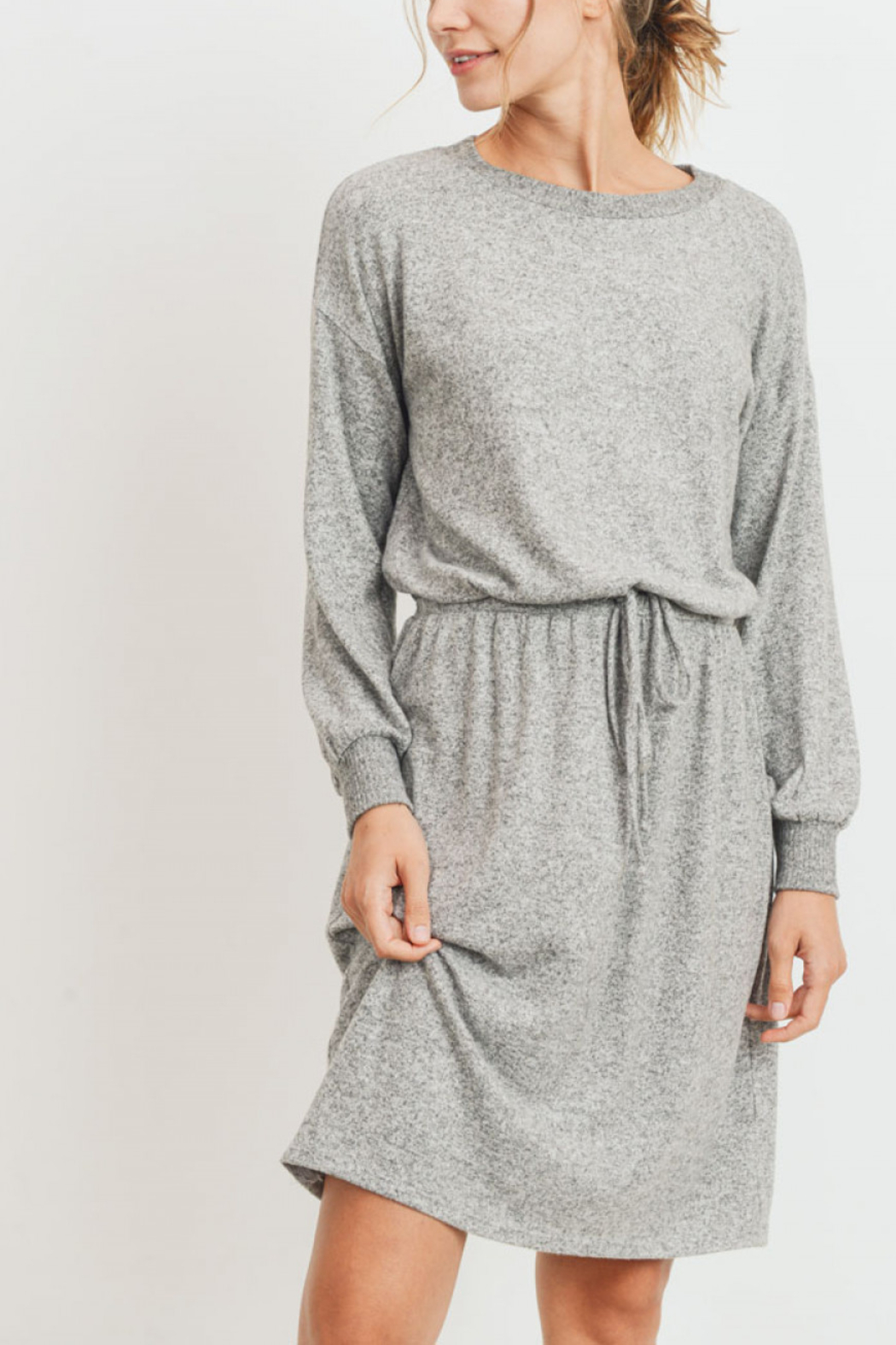 Lyn -Maree's Ultra Soft Midi Dress - Front Cropped Image