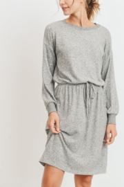 Lyn -Maree's Ultra Soft Midi Dress - Front cropped