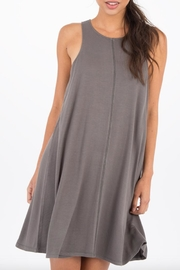 Others Follow  Ultra-Soft Swing Dress - Front cropped