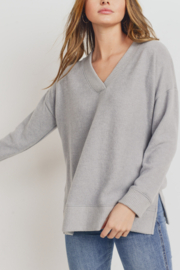 Lyn-Maree's  Ultra Soft V-Neck Sweater - Product Mini Image