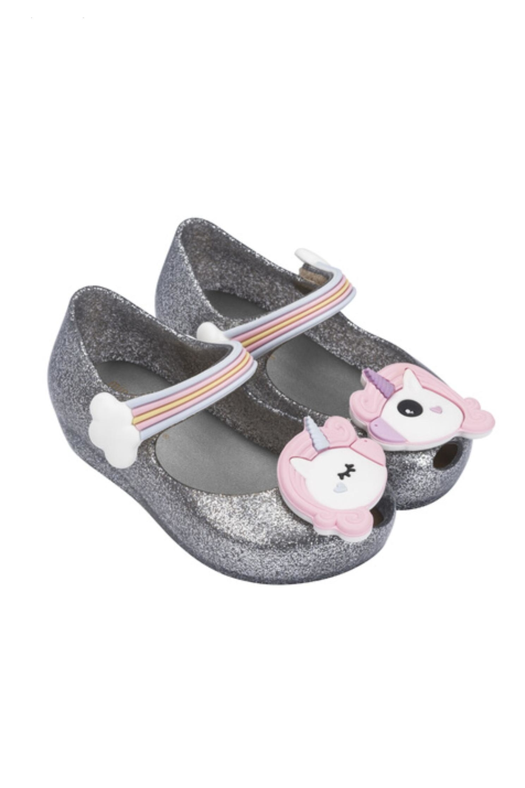 Mini Melissa Ultragirl Unicorn Shoe - Front Cropped Image