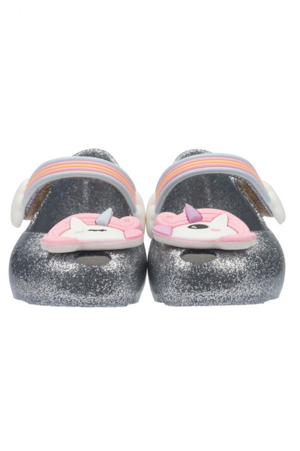 Mini Melissa Ultragirl Unicorn Shoe - Front Full Image