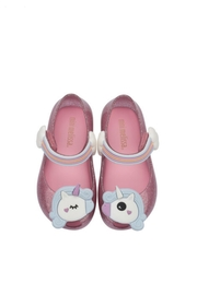 Mini Melissa Ultragirl Unicorn Shoe - Front full body