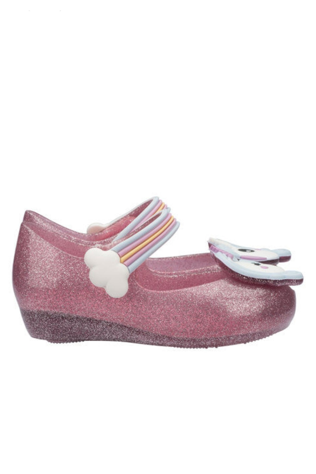 Mini Melissa Ultragirl Unicorn Shoe - Side Cropped Image