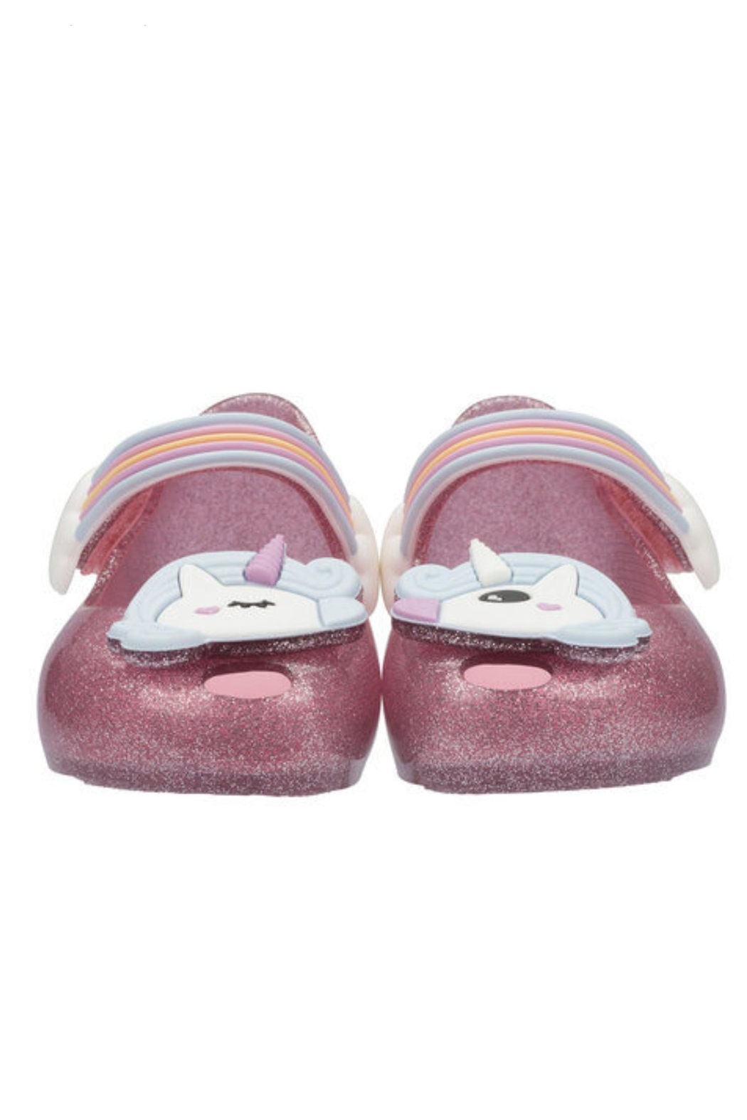 Mini Melissa Ultragirl Unicorn Shoe - Back Cropped Image