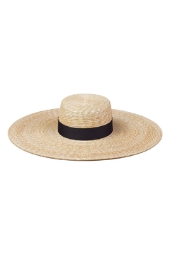 Shoptiques Product: Ultrawide Boater Hat
