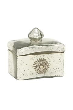 Shoptiques Product: Silver Glass Box