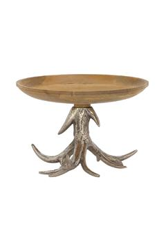 Shoptiques Product: Wood Antler Bowl