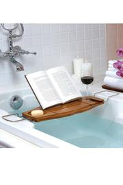 Umbra Aquala Bathtub Caddy - Front full body