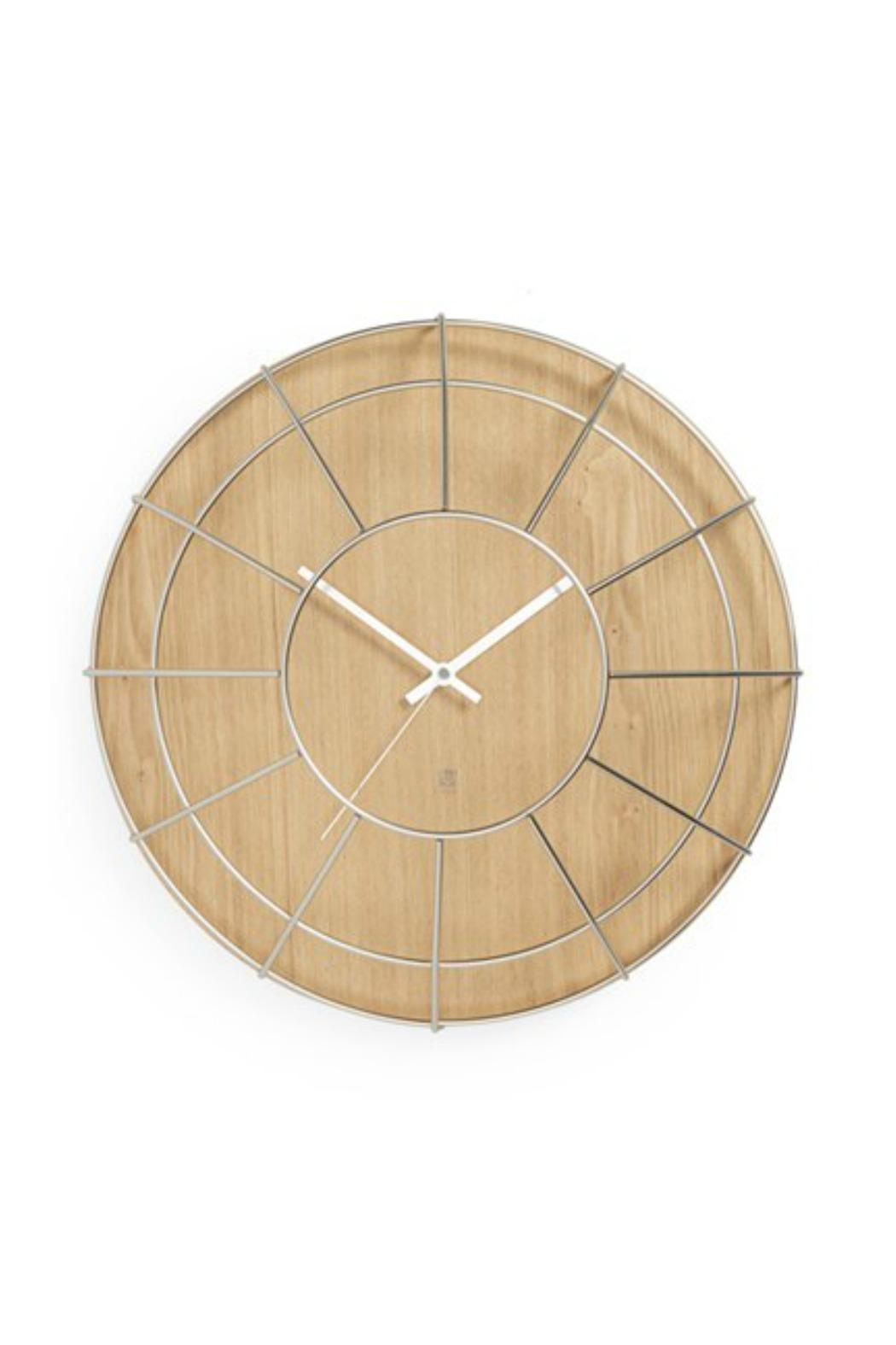 Umbra Cage Wall Clock from Canada by Inspired Living Decor — Shoptiques