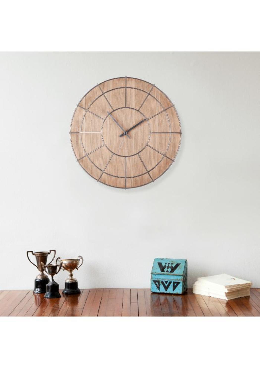 Umbra Cage Wall Clock - Front Full Image
