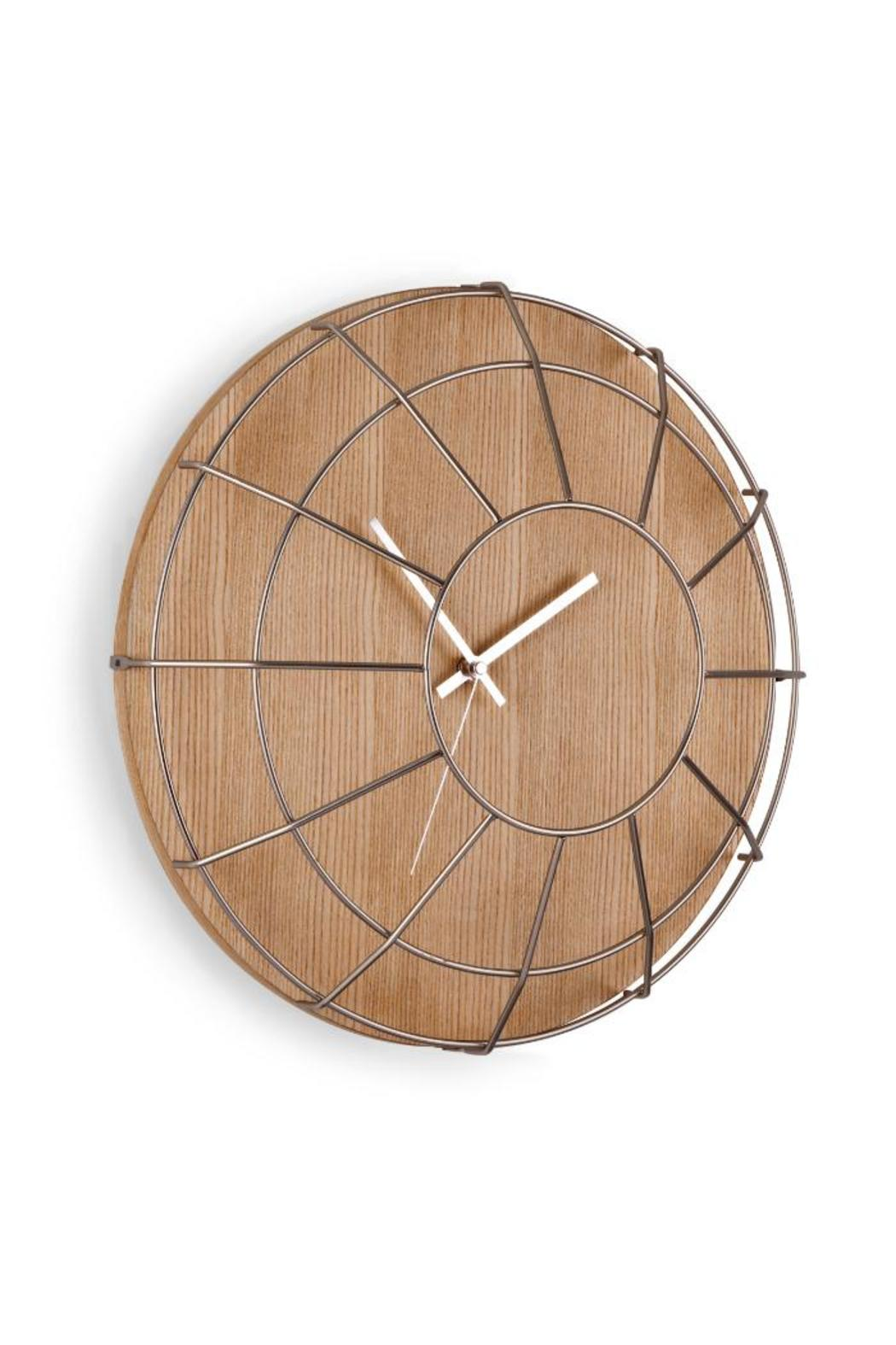 Umbra Cage Wall Clock - Main Image