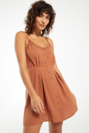 z supply Umbra Gauze Dress - Front cropped