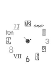 Umbra Numbra Clock Silver - Product Mini Image