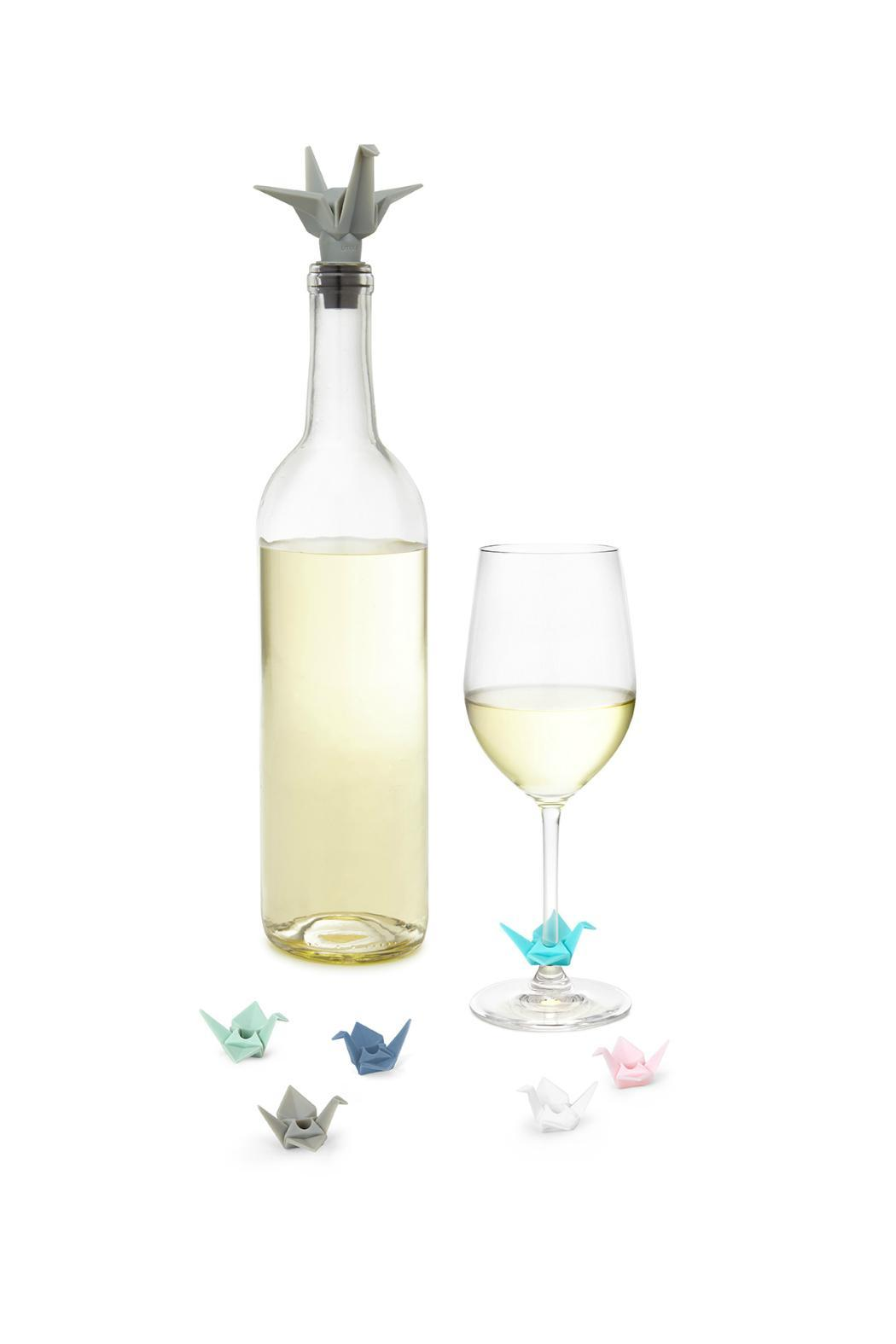Umbra Origami Wine Charms Topper - Front Cropped Image