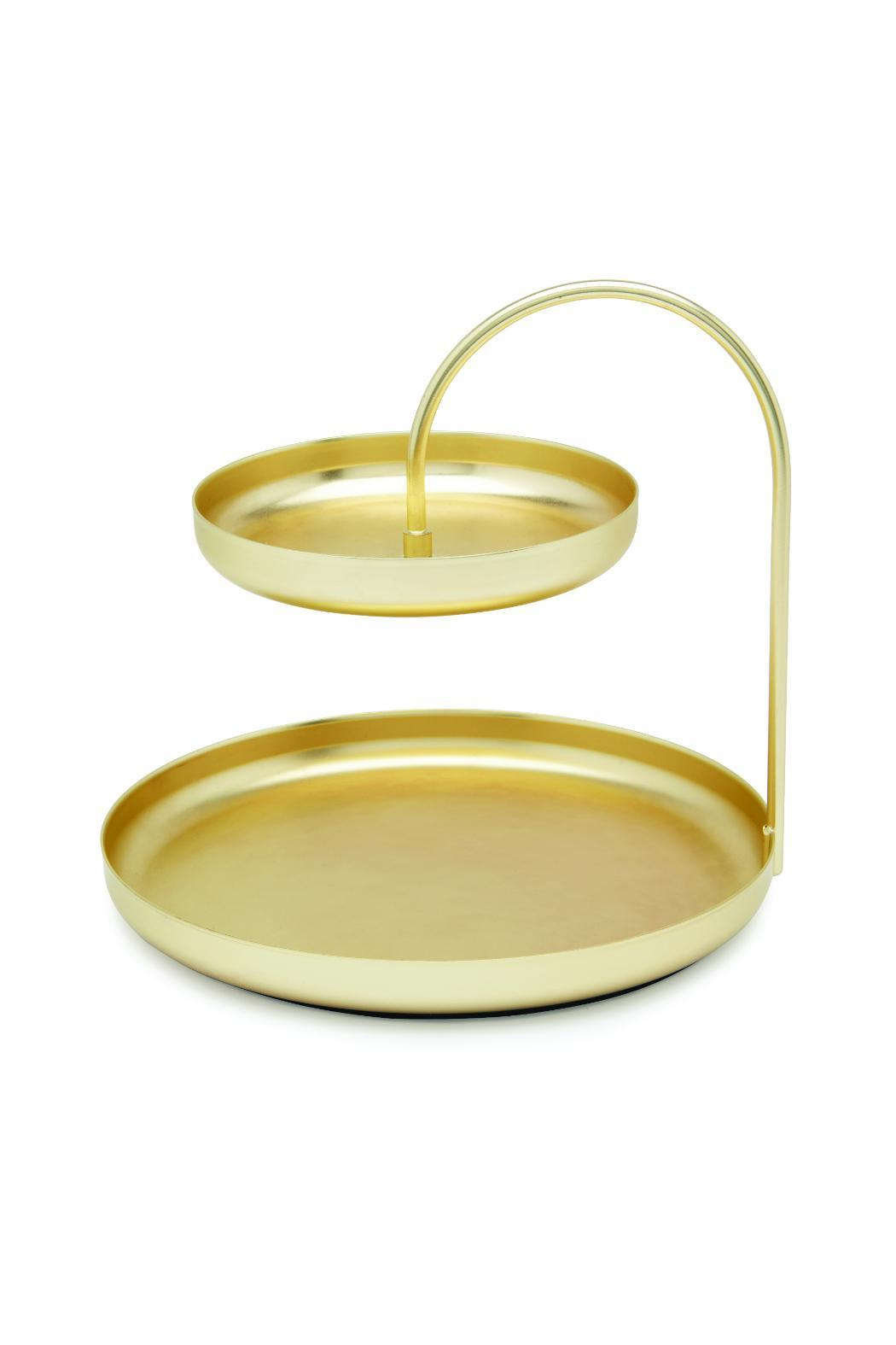Umbra Gold Accessory Tray from Omaha by The Afternoon — Shoptiques