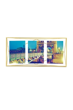 Shoptiques Product: Prisma Multiframe, Brass