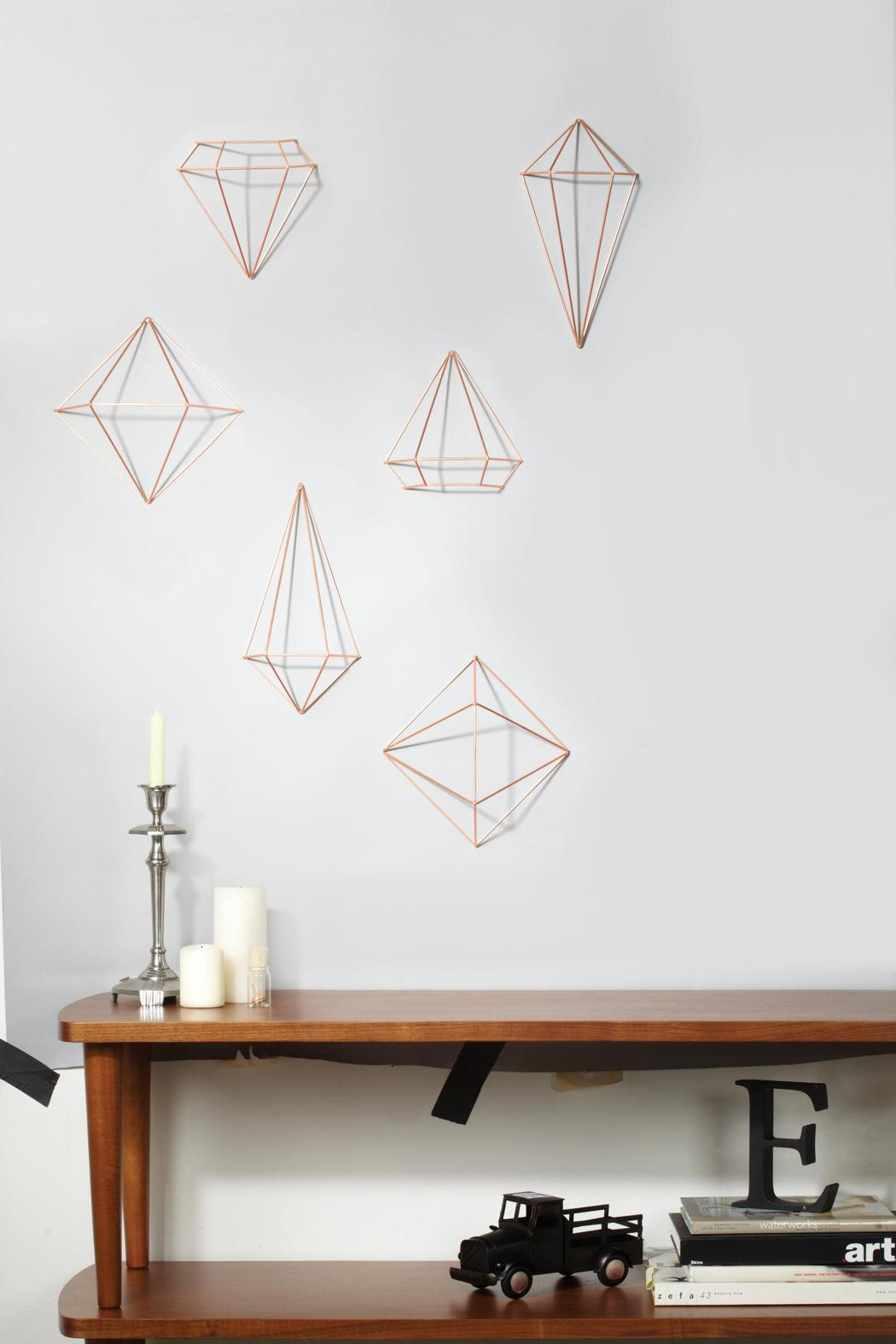 Copper Wall Decor umbra prisma wall-decor copper from saskatchewantwisted goods