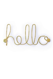Umbra Wired Hello Wall Art - Product Mini Image