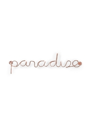 Umbra Wired Paradise, Copper - Front cropped