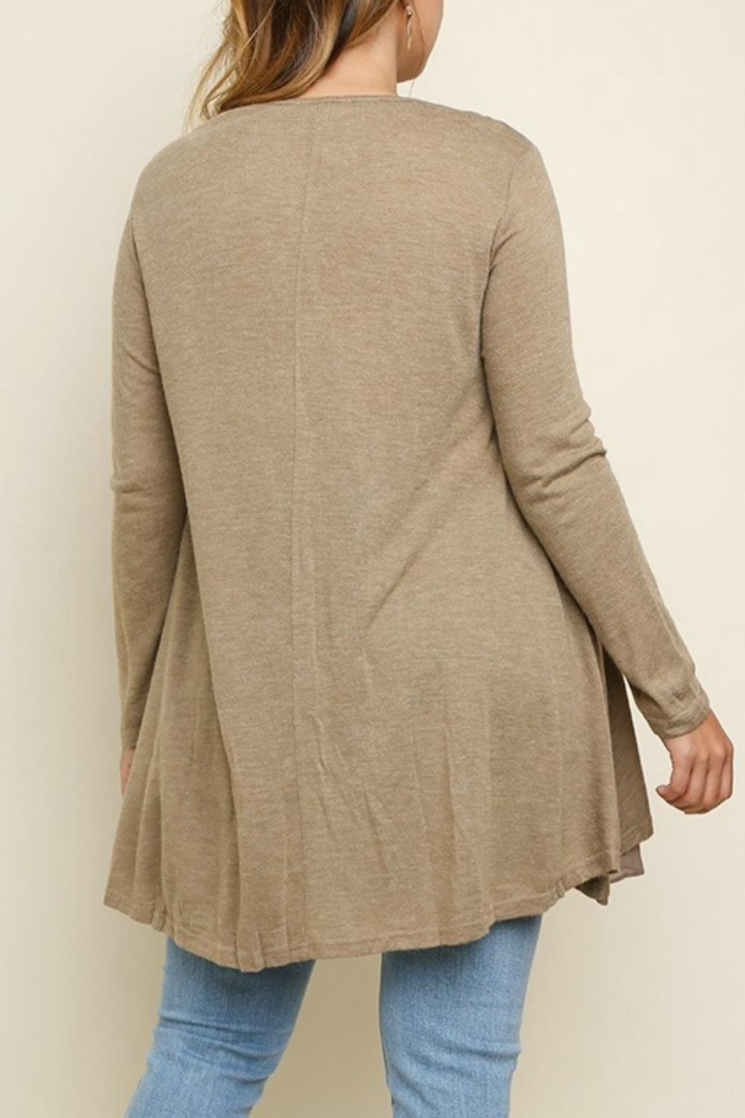 UMG PLUS Pretty Layered Tunic - Side Cropped Image