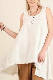 UMG PLUS Sleeveless Asymmetrical Top - Product Mini Image