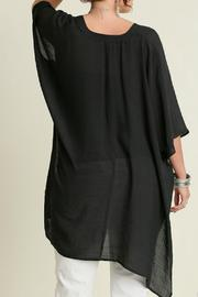 UMG PLUS V Neck Plus Caftan - Back cropped