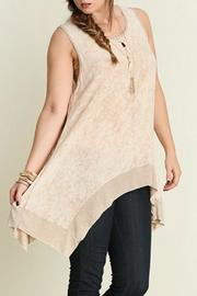 Umgee USA Tunic Tank Top - Front cropped
