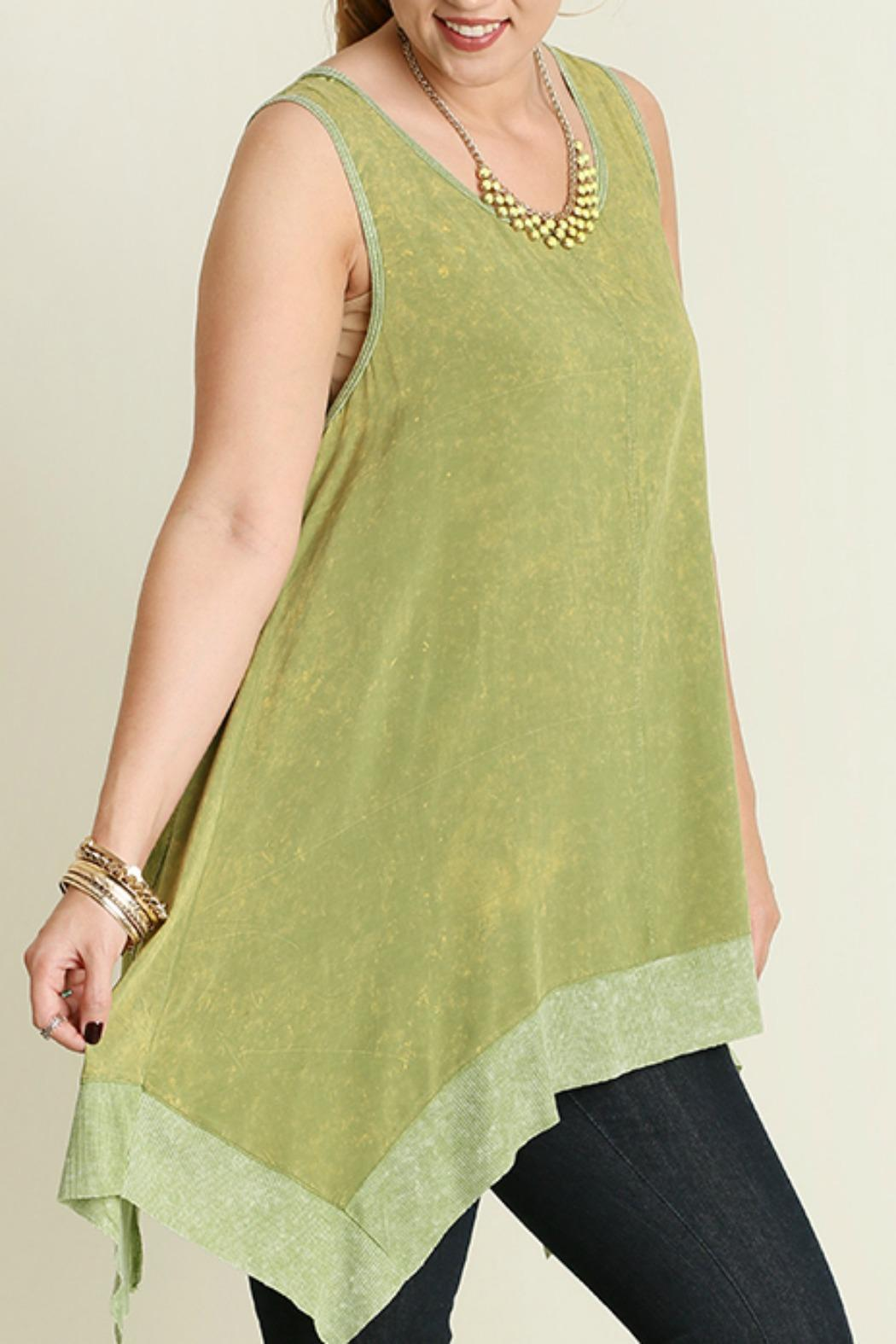 Umgee USA Tunic Tank Top - Front Full Image