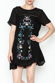 Umgee USA A Line Floral Dress - Product Mini Image