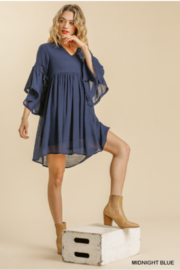umgee  Umgee Bell Sleeve Dress - Product Mini Image