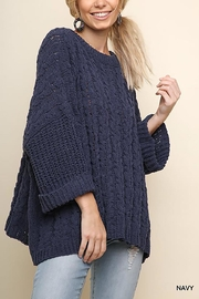 Umgee Chenille Pullover Sweater - Product Mini Image