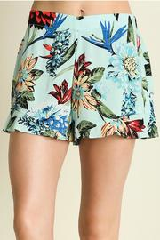 Umgee USA Elise Floral Short - Front cropped