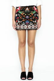 Umgee USA Embroidered Skirt - Front full body