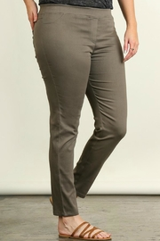 Umgee USA Favorite Olive Leggings - Side cropped