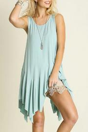 Umgee USA Sleeveless Draped Shirt - Product Mini Image
