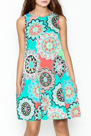 Umgee USA Floral Tunic Dress - Product Mini Image