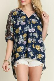Umgee USA Flower Child Blouse - Product Mini Image