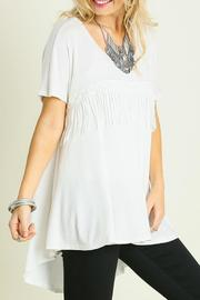 Umgee USA Fringe Fabulous Tee - Product Mini Image