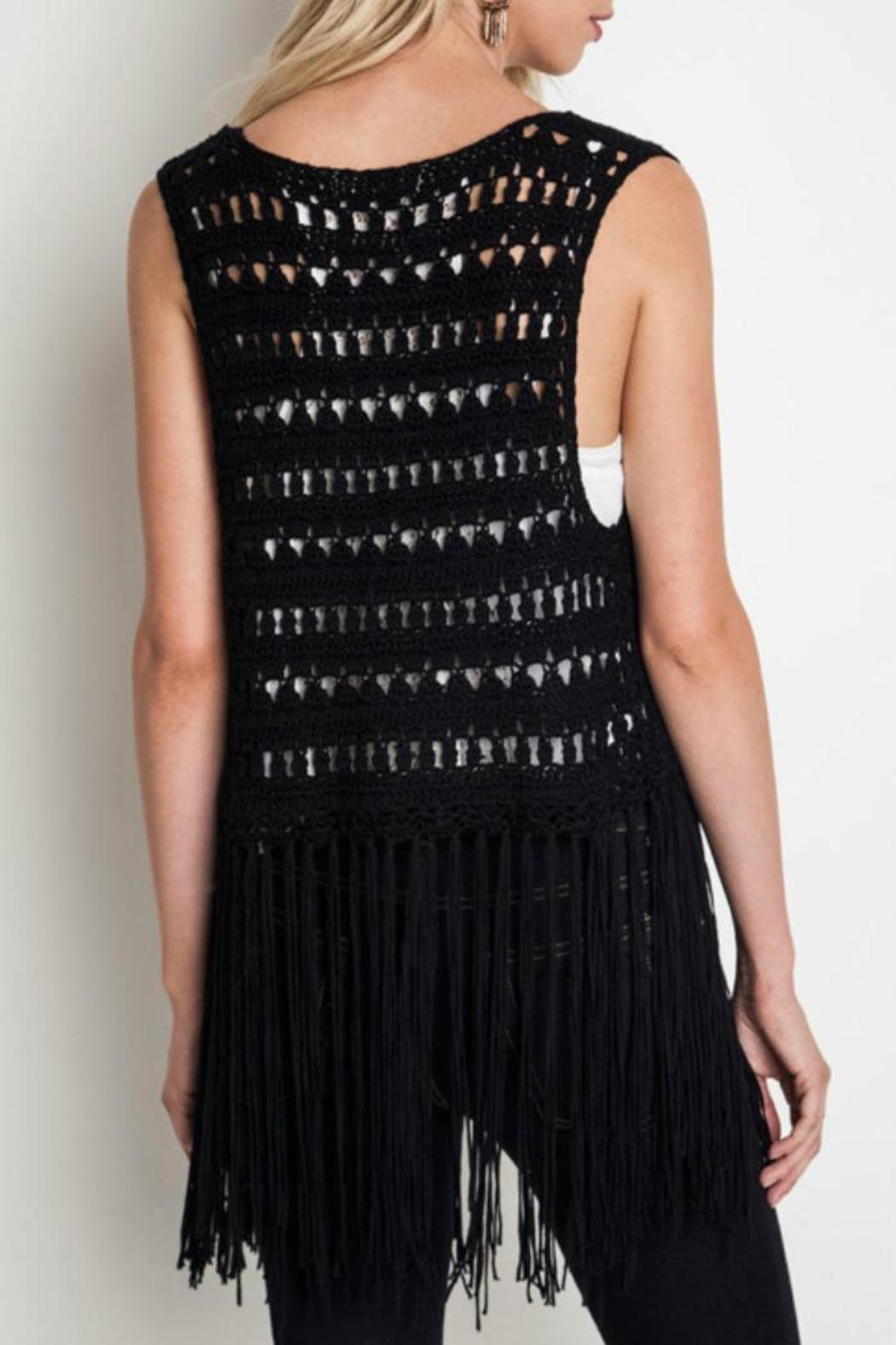 Umgee USA Fringe Vest from Mississippi by Exit 16 - Diamondhead ...