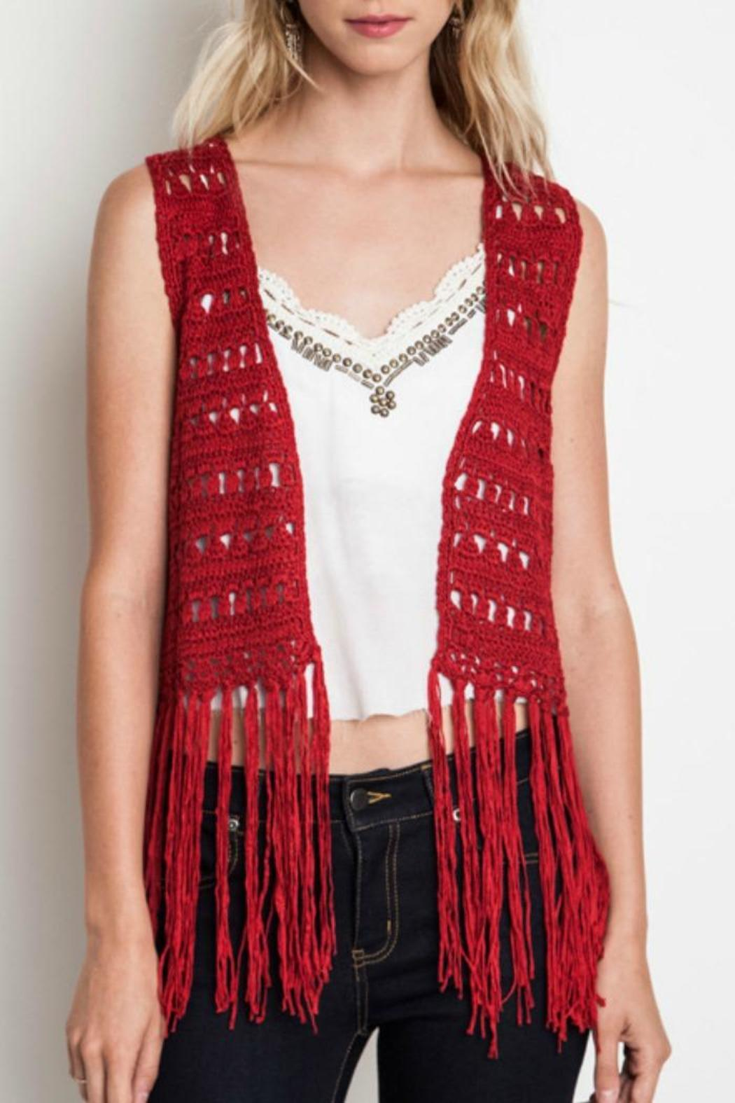 Umgee USA Fringe Vest from Mississippi by Exit 16 — Shoptiques