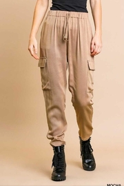 Umgee High Waist Cargo - Product Mini Image